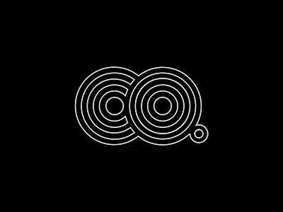 CO Logo Design Simple Line Art Used in Logo Design | 25 Beautiful Examples