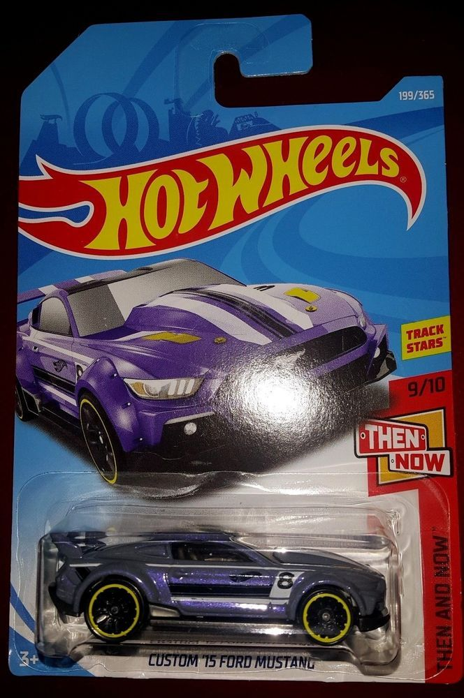Hot Wheels 2018 Then And Now 9 10 Custom 15 Ford Mustang Purple