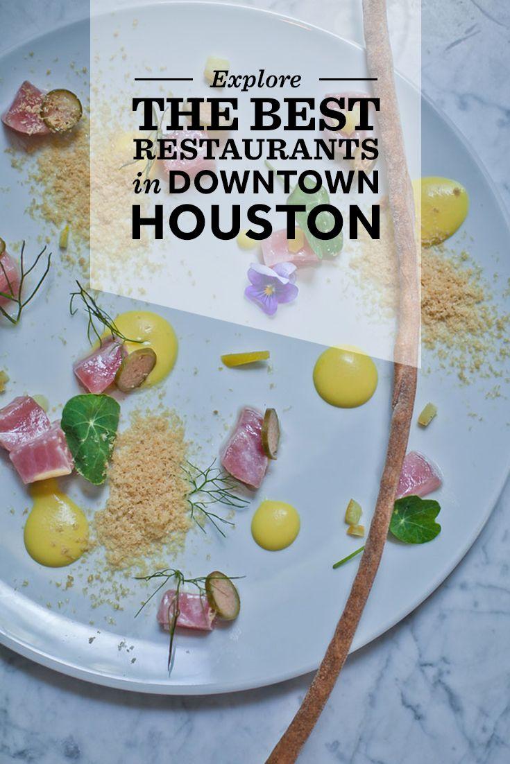 Explore the best restaurants in Downtown Houston.