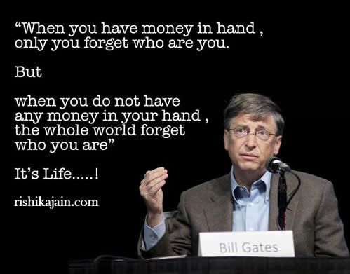 Bill Gates Quote,Life, Inspirational Quotes, Motivational Thoughts and Pictures