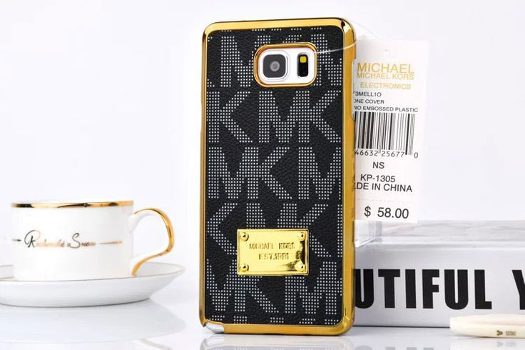 Hot Michael Kors Note 5 Case Cover Cover Black