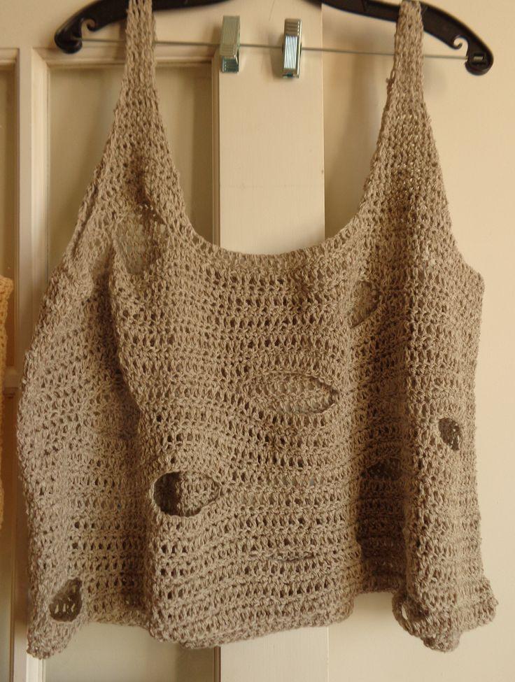 Holy Summer Crochet Top for the Beach!!!!!