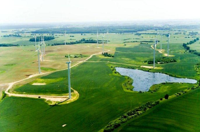 Kisielice szélerőművei/wind power plant  Szerző/creater: Warmia Wazury