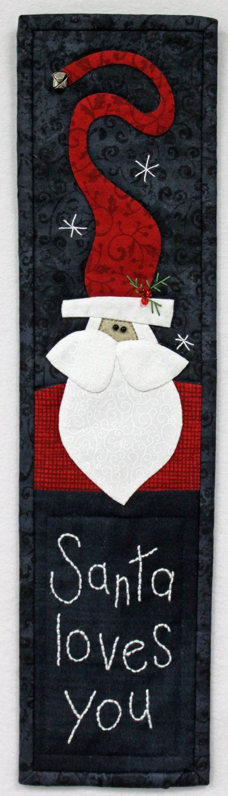 Santa Loves You Pattern