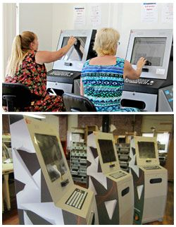 Printing Kiosks and Information Kiosks for your business. #printingkiosks #informationkiosks #scanningkiosks