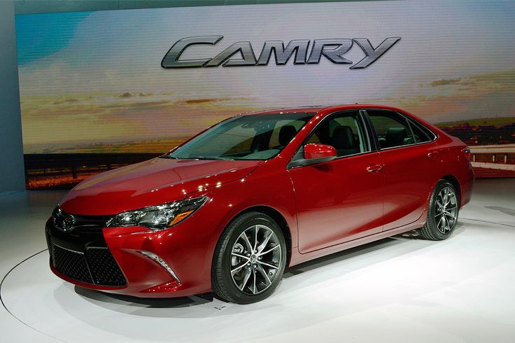 2015 Toyota Camry. Check out Toyota's 2015 vehicle line up, some of which will be displayed at the 2015 Calgary International Auto & Truck Showcase  For more information visit us online at: www.autoshowcalgary.com