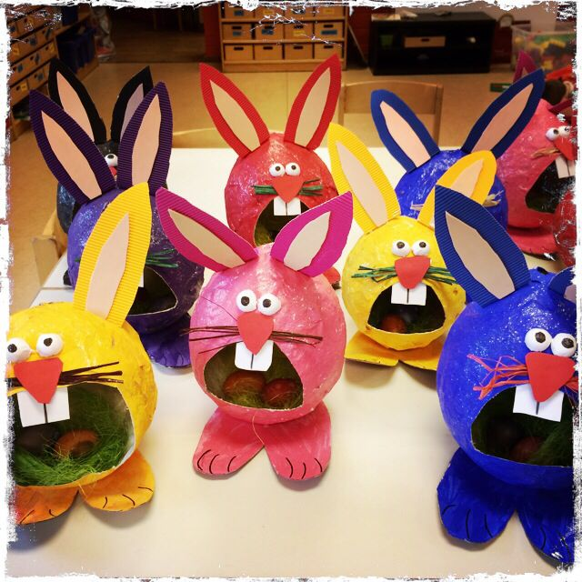Big Mouth Rabbit Easter Craft