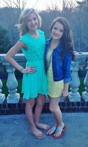 Paige and Brooke Hyland