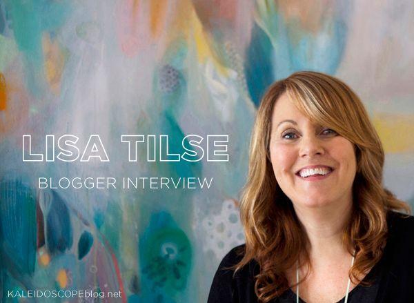 Lisa Tilse The Red Thread Blog Blogger Interview Kaleidoscope Blog