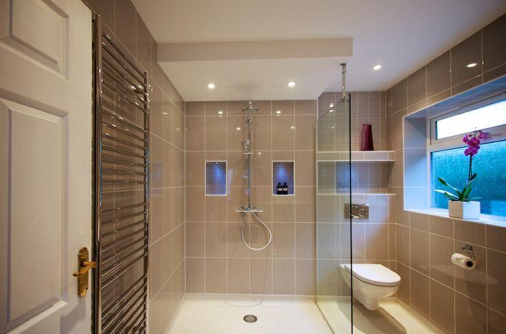 Designer Disabled Bathroom Level Access Wetroom, The Brighton Bathroom Company