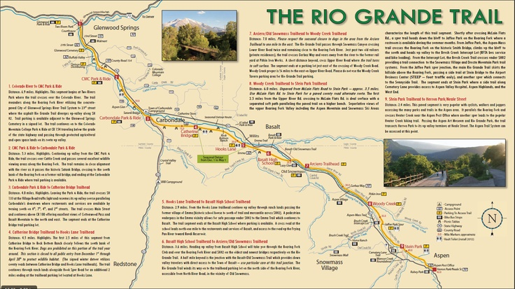 rio grande trail map rio grande trail pinterest rio grande Rio Grande Trail Map rio grande trail map rio grande trail pinterest rio grande and trail maps rio grande trail map