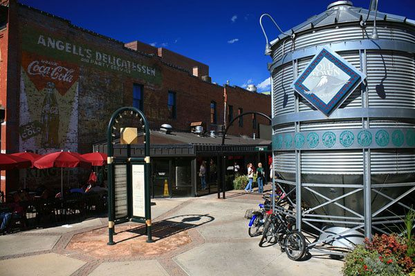 a guide to a bike tour that takes you stop-by-stop through five microbreweries in Fort Collins, Colorado