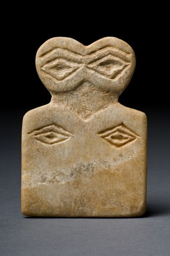 Eye idol Ancient Near East 4th Millennium BC