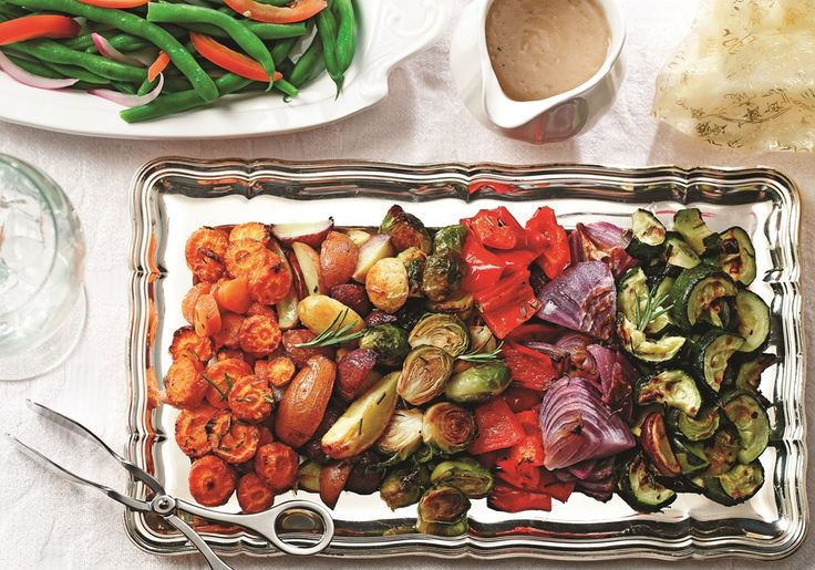 So simple, yet SO impressive, these rosemary roasted winter vegetables are loved by all. Perfect for holidays or any day. Vegan, gluten-free, dairy-free.
