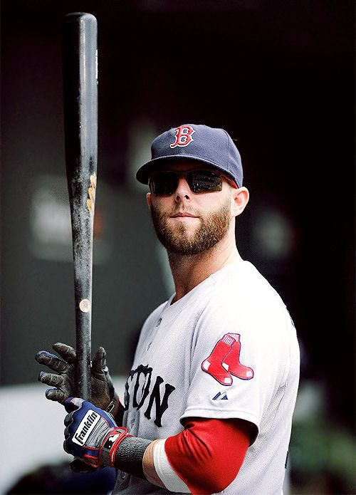Dustin Pedroia Red Sox Eric's mancrush!! Lol