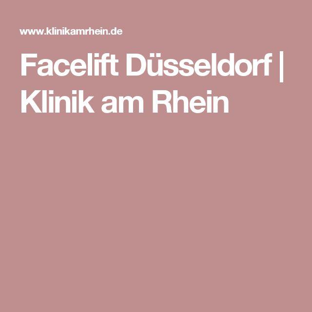 Facelift Düsseldorf | Klinik am Rhein