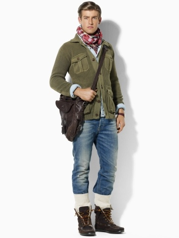 Polo - Four-Pocket Cardigan: Sweater Jacket, Bees, Style Inspiration, Drippin Swagoo, Weekend Style, F2W Weekend, Four Pocket Cardigan