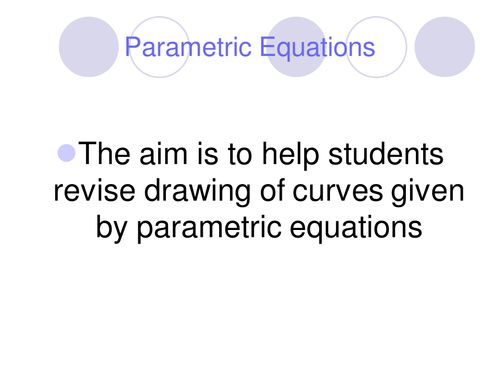 Parametric_Equations.ppt