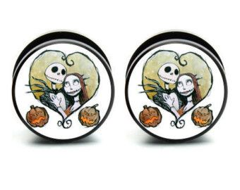 Nightmare Before Christmas Ear Gauges | Nightmare Before Christmas ...