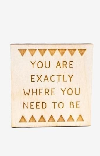 Sometimes the journey is the most important part! This little magnet is the perfect reminder. $5 www.mooreaseal.com
