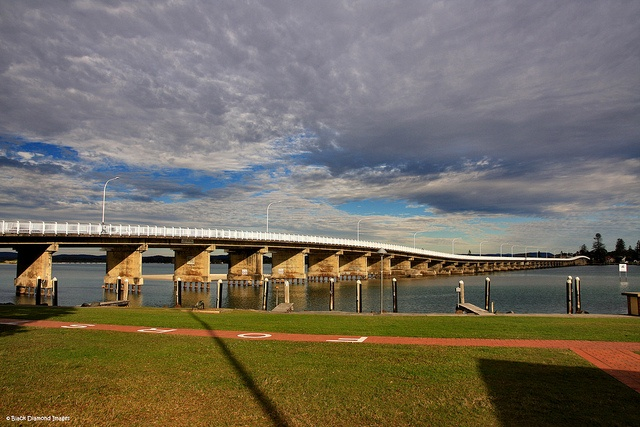 Wallis lake Bridge - Forster, NSW    © All Rights Reserved - Black Diamond Images
