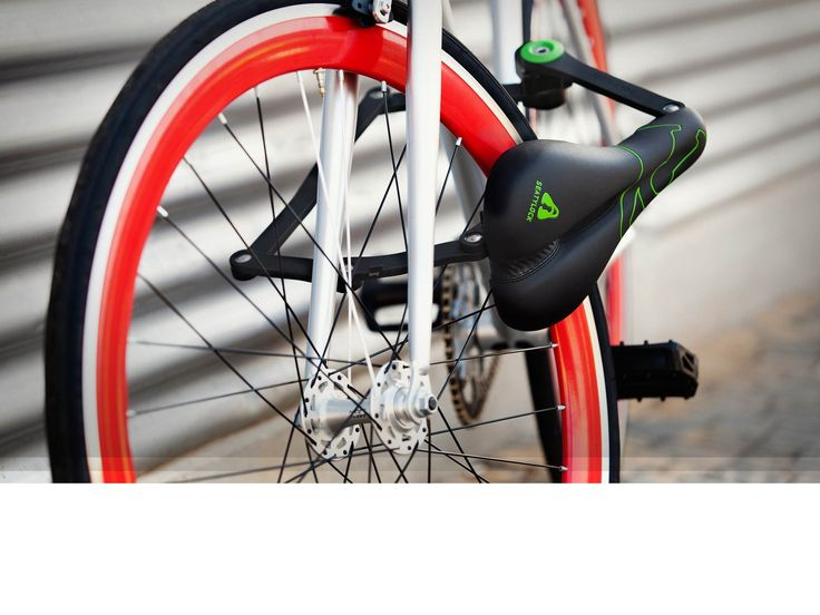 Seatylock is an integrated bike seat with lock system built in