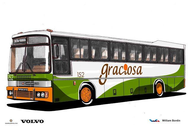 Will.Bus: Marcopolo III / Volvo B58 - (PR)  Viação Graciosa ...