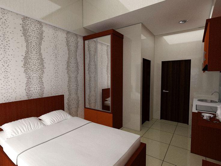 furnished 3d design apartemen Taman Melati Bandung