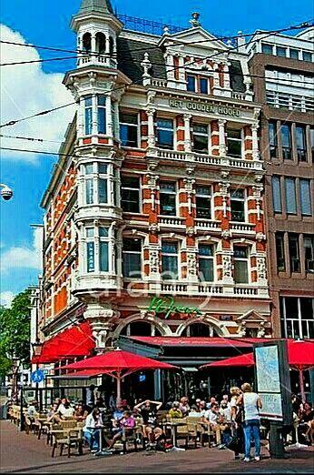 Rembrandtplein Amsterdam The Netherlands