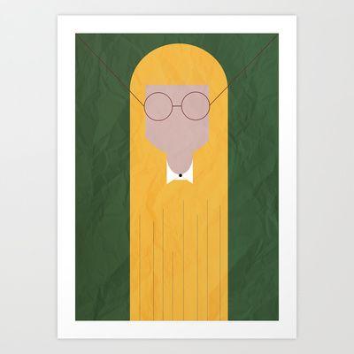 GIRLS #1 Art Print by The Bearded Bird. - $14.00