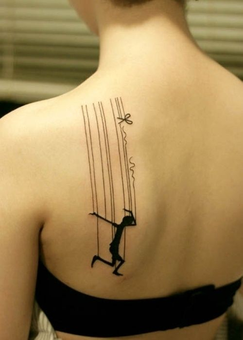 Don't allow society to pull you by your strings