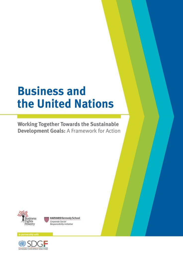 Joining efforts for sustainable development