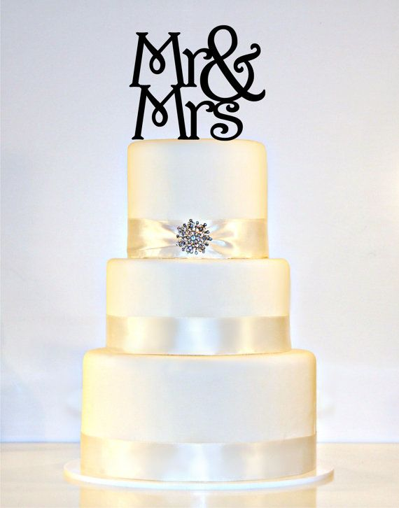 Hey, I found this really awesome Etsy listing at https://www.etsy.com/listing/111632807/mr-mrs-wedding-cake-topper