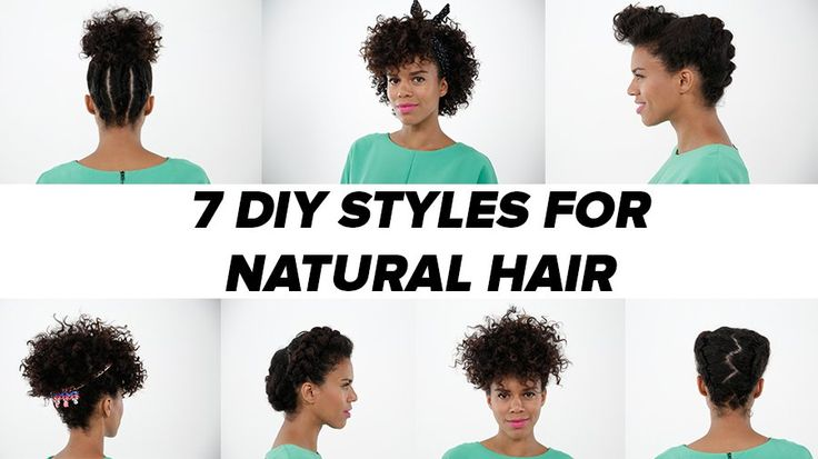 7 DIY Looks For Natural Hair: When planning this natural hairstyle tutorial, we knew we had to recruit the hair mavens at Mane Addicts to help us find the master in natural styling.