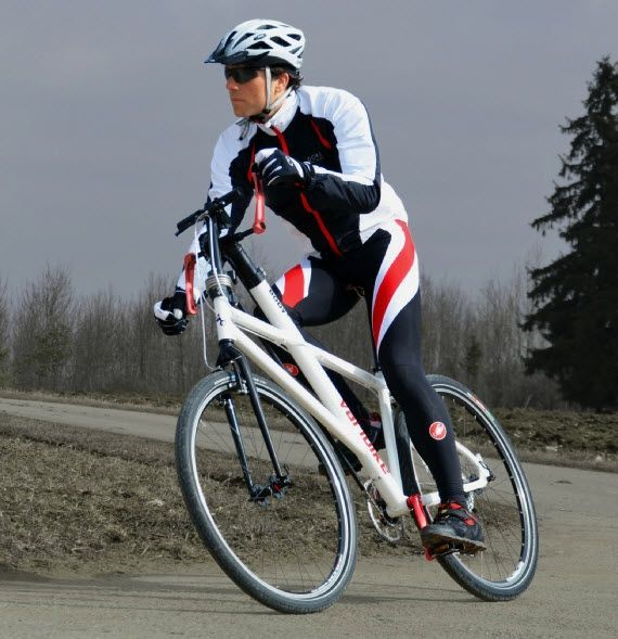 Varibike Bicycle Can Be Propelled Using Both Arms And Legs