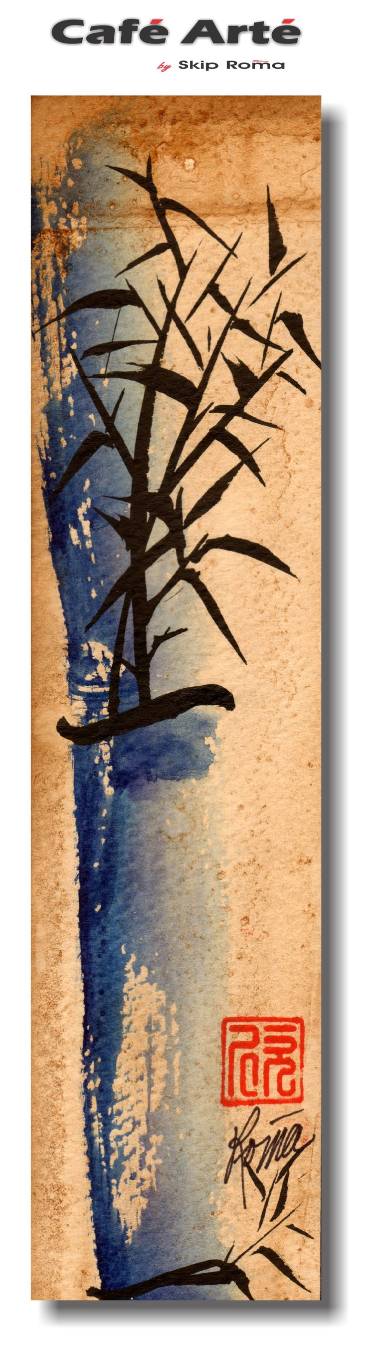 27 best images about chinese element on pinterest for Painting with coffee grounds