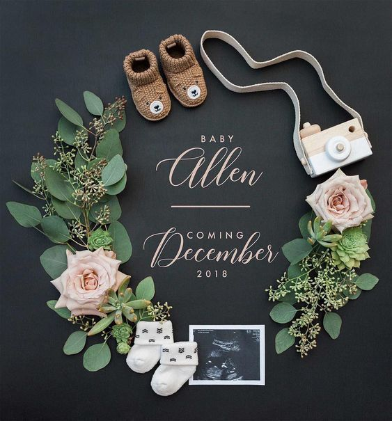 10 Classy Pregnancy Announcement Photo Ideas – #An…