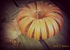Mason Jar Ring Crafts – Fall Pumpkin #crafts #fall #pumpkin