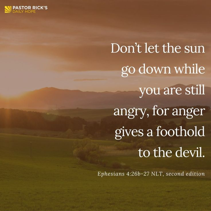 When you give the Devil a foothold into your life, he takes a stronghold. What does that mean? If you give Satan control of one little part of your life, he will soon take over the whole thing. You give him a foothold into your life, and he turns it into a stronghold. Learn more, in this devotional from Pastor Rick Warren.
