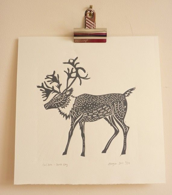 deer by adeegan on Etsy