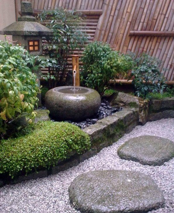 15 Fountain Ideas For Your Garden Small Japanese Garden