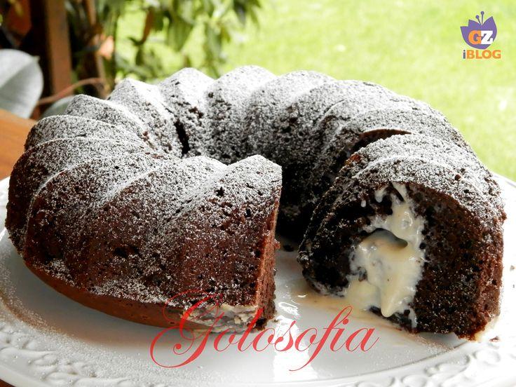 Ciambella al cioccolato e mascarpone, un dolce soffice, dal ripieno stragoloso!
