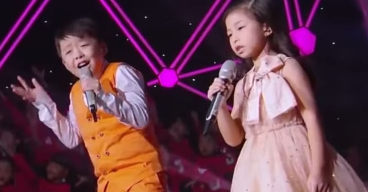"""PERFECTION. Little Kids In China Perform A Touching Cover Of """"You Raise Me Up"""" via LittleThings.com"""