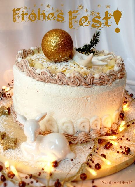 MehlspeisDirndl*: Fröhliche Weihnachten! ...mit Festtagstorte & einem Blick in die Weihnachtsbäckerei bei Der Mann Bäckerei!