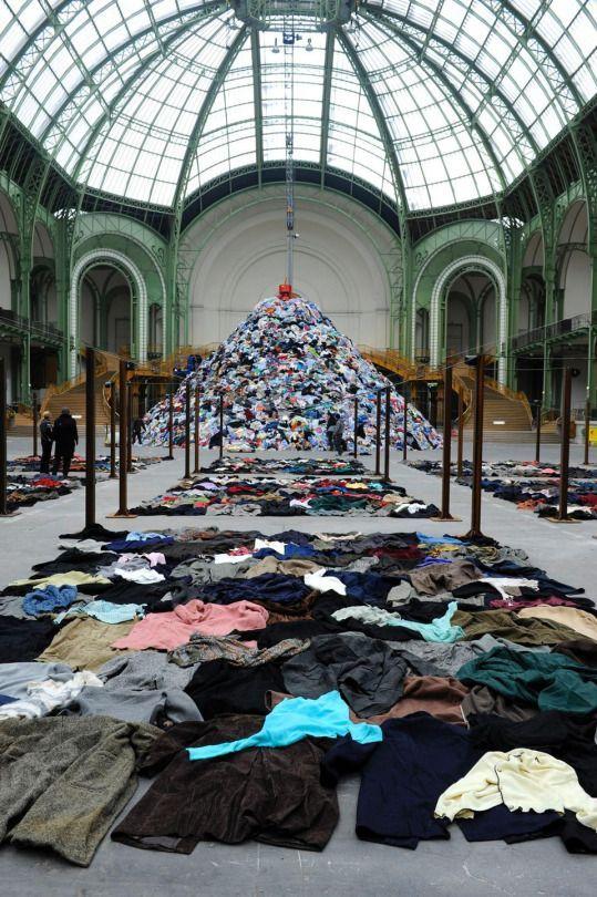 Christian Boltanski, Grand Palais Paris, Persones, Monumenta 2010.