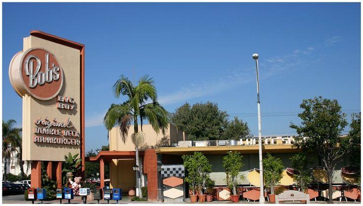 Bob's Big Boy Restaurant 1949 by architect Wayne Mc Allister  |  4211 W. Riverside  |  Toluca Lake  |  Los Angeles