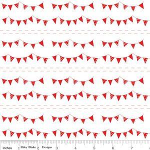 Tasha Noel - The Simple Life - Buntings in Red