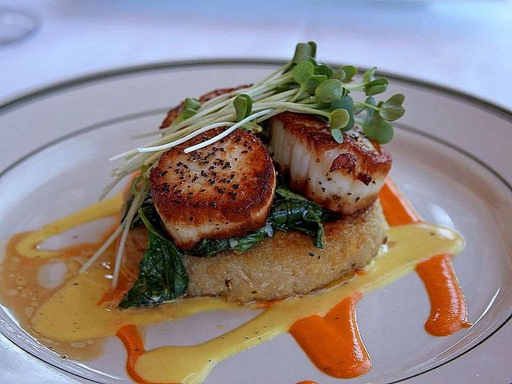 Grilled scallops are delightful when served with prawns on skewers or separated and added to other dishes