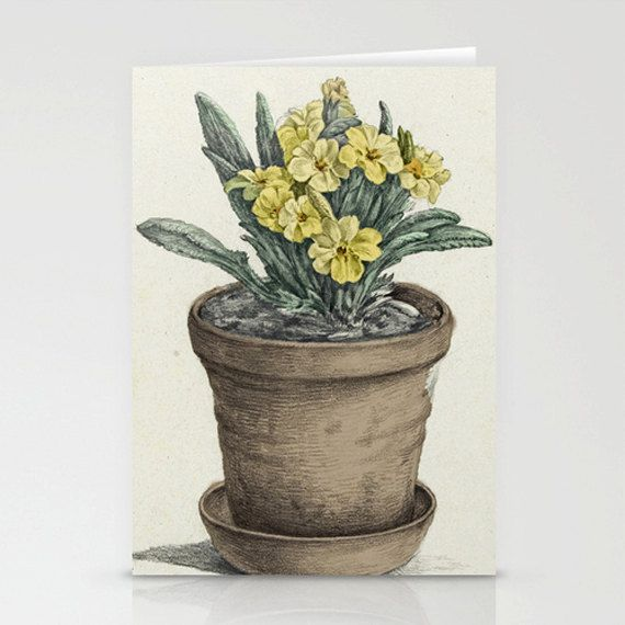 Greetings card hand made artist illustration Spring by modestly, £3.00