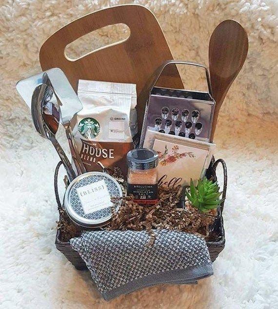 33 Themed Christmas Basket Ideas Easy Diy Christmas Gifts Kitchen Gift Baskets Christmas Gift Baskets Diy